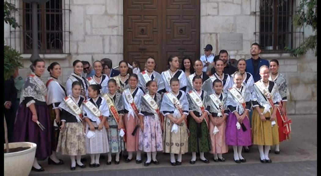 Vinaròs celebra els actes institucionals del 9 d'Octubre