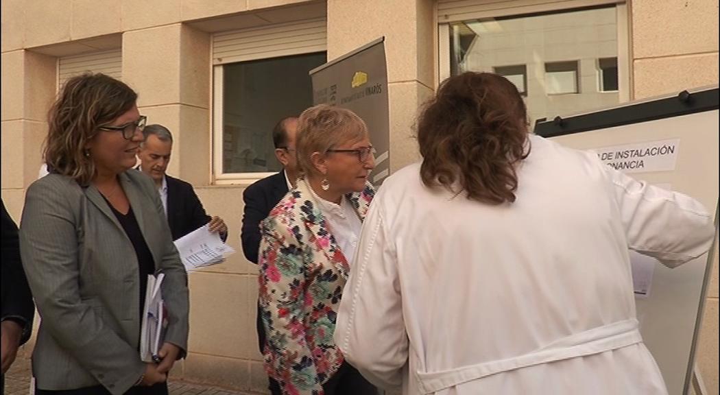 Vinaròs, la consellera Ana Barceló visita l'Hospital Comarcal per comprovar l'estat de les instal·lacions