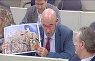 El Senat aprova la moció de Compromís per avaluar els despreniments detectats al penya-segat del Castell de Peníscola