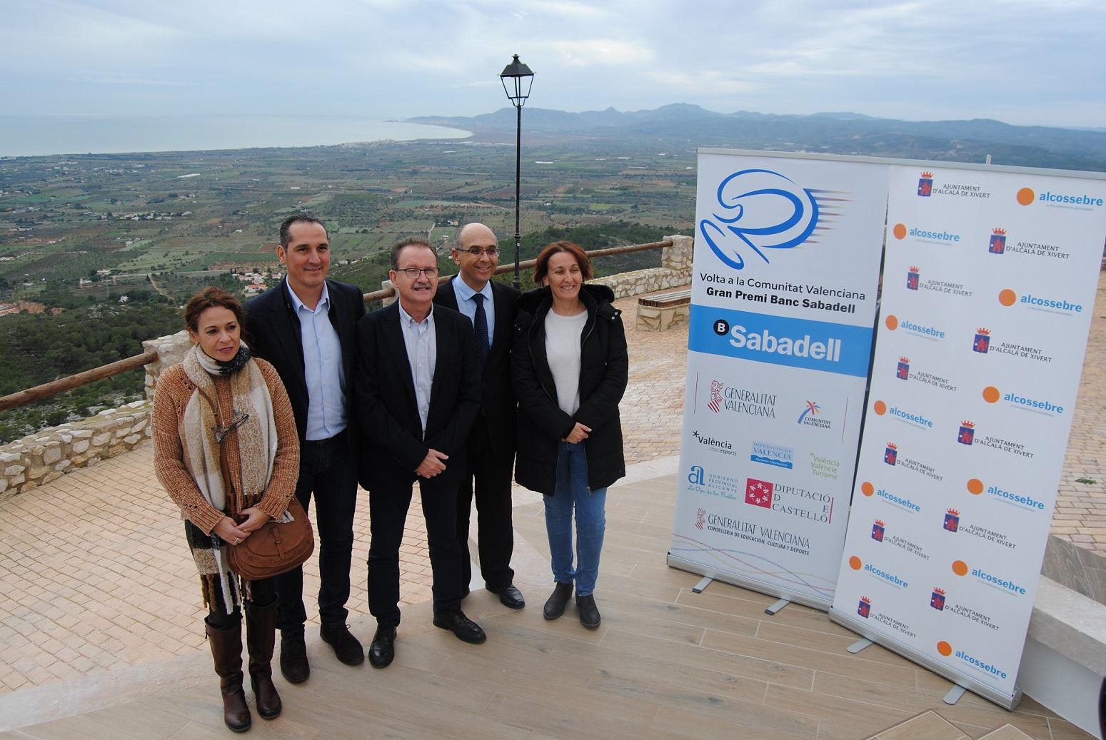 Alcalà, l'ermita de Santa Llúcia acollirà el final de la 4a etapa de la Volta a la Comunitat Valenciana