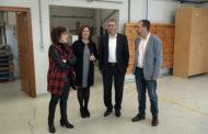 Benicarló;  Firma del conveni per a la cessió d'ús de l'Espai Empresarial de Benicarló (les antigues instal.lacions d'Aidima) 19-11-2018