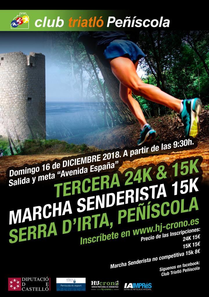 Peníscola, s'obre el termini d'inscripcions per al 3er Trail Serra d'Irta