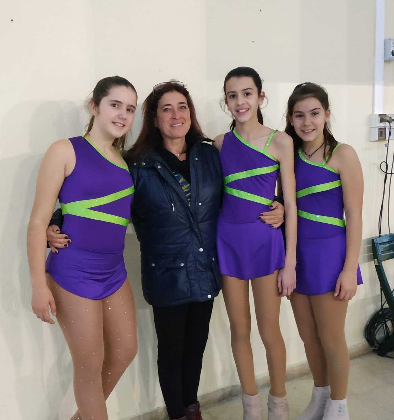 Vinaròs, el Club Patinatge Artístic aconsegueix l'aptitud durant 3a Prova d'Iniciació i Aptitud 2018
