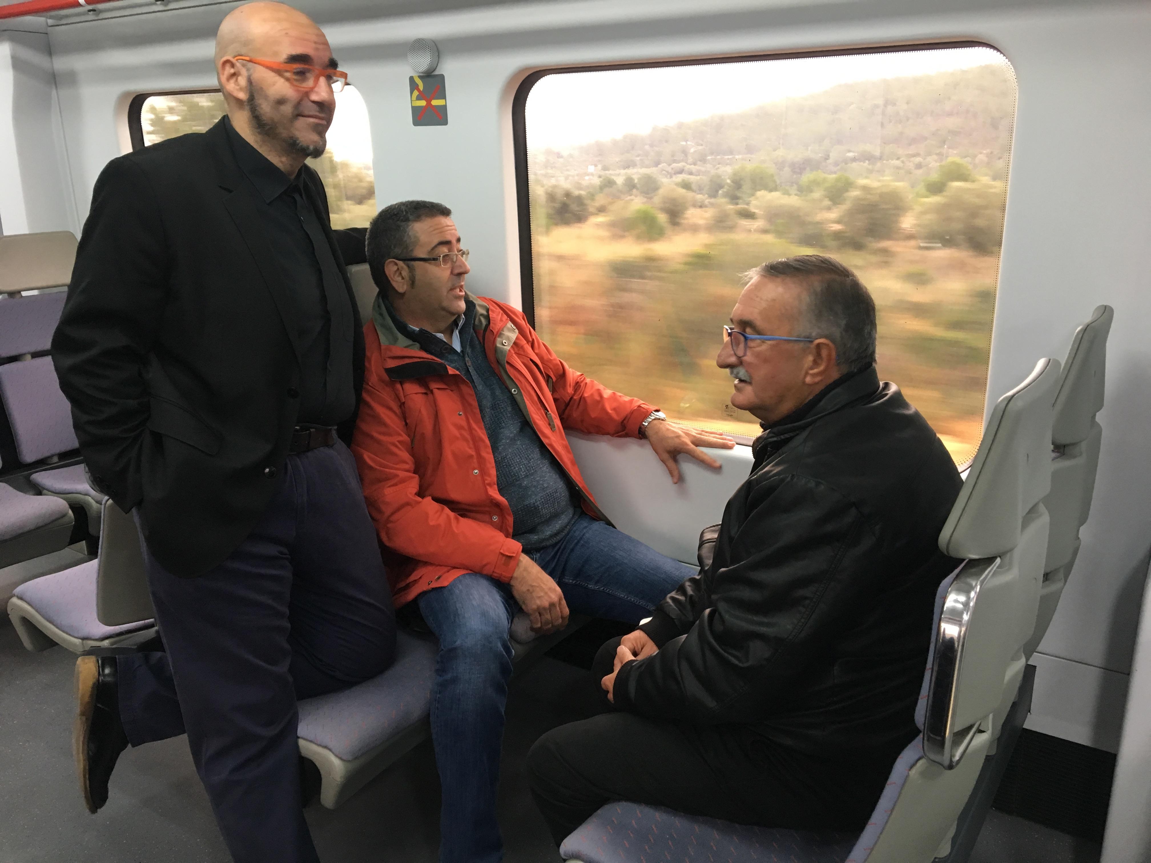 Compromís denuncia que el Govern Central nega l'aturada de trens a Santa Magdalena