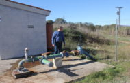 Santa Magdalena canvia el motor del pou d'aigua potable, danyat per la gota freda