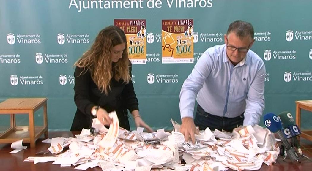 Vinaròs, Comerç sorteja 10 xecs regal valorats en 100€
