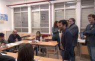 Vinaròs, el conseller Marzà visita la nova seu de l'Escola Oficial d'Idiomes