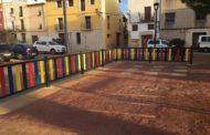 Càlig, l'Ajuntament adequa el parc infantil de la plaça País Valencià
