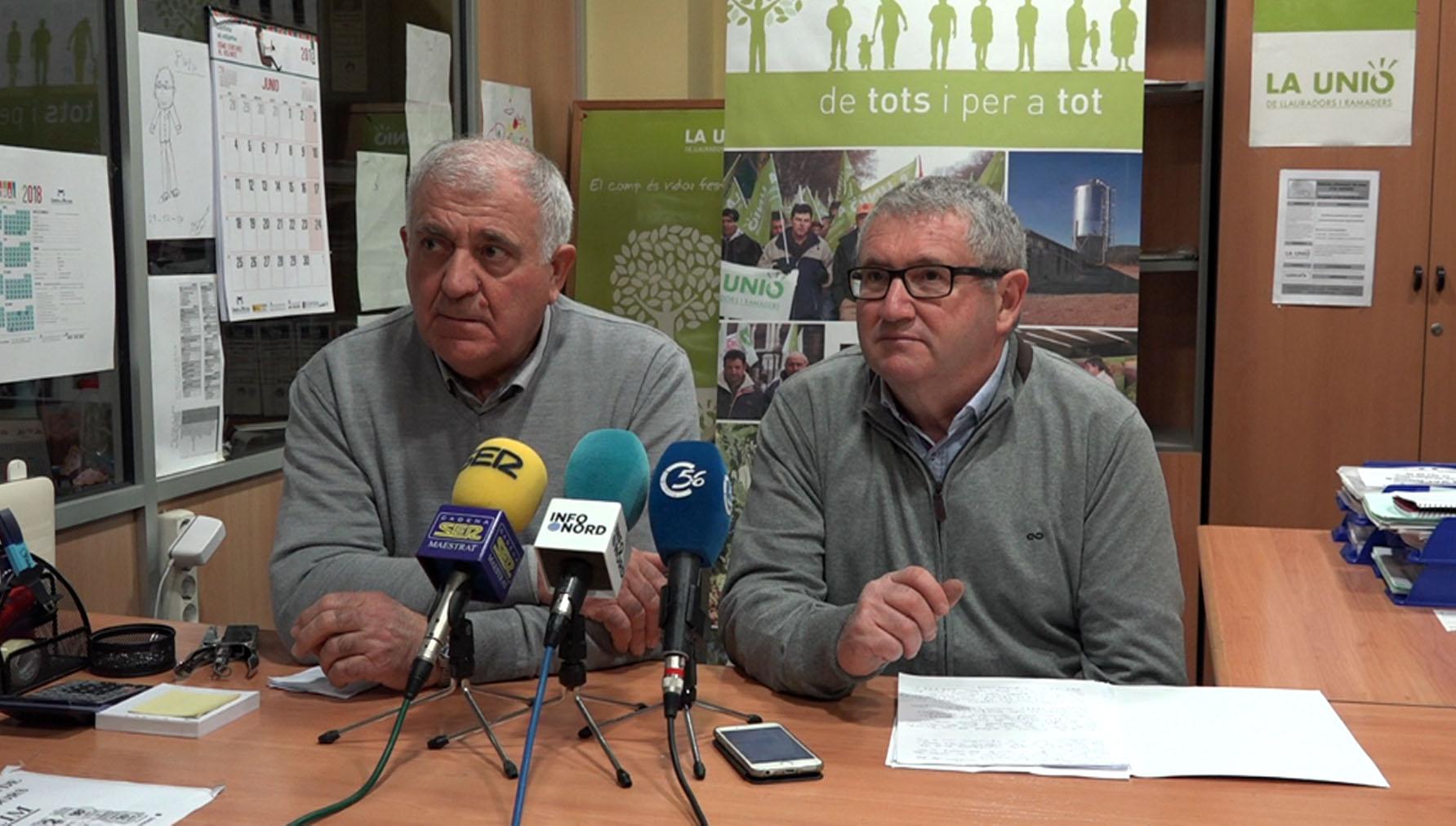LA UNIÓ elabora una guia amb les novetats i preguntes freqüents sobre l'estat d'alarma per al sector agrari