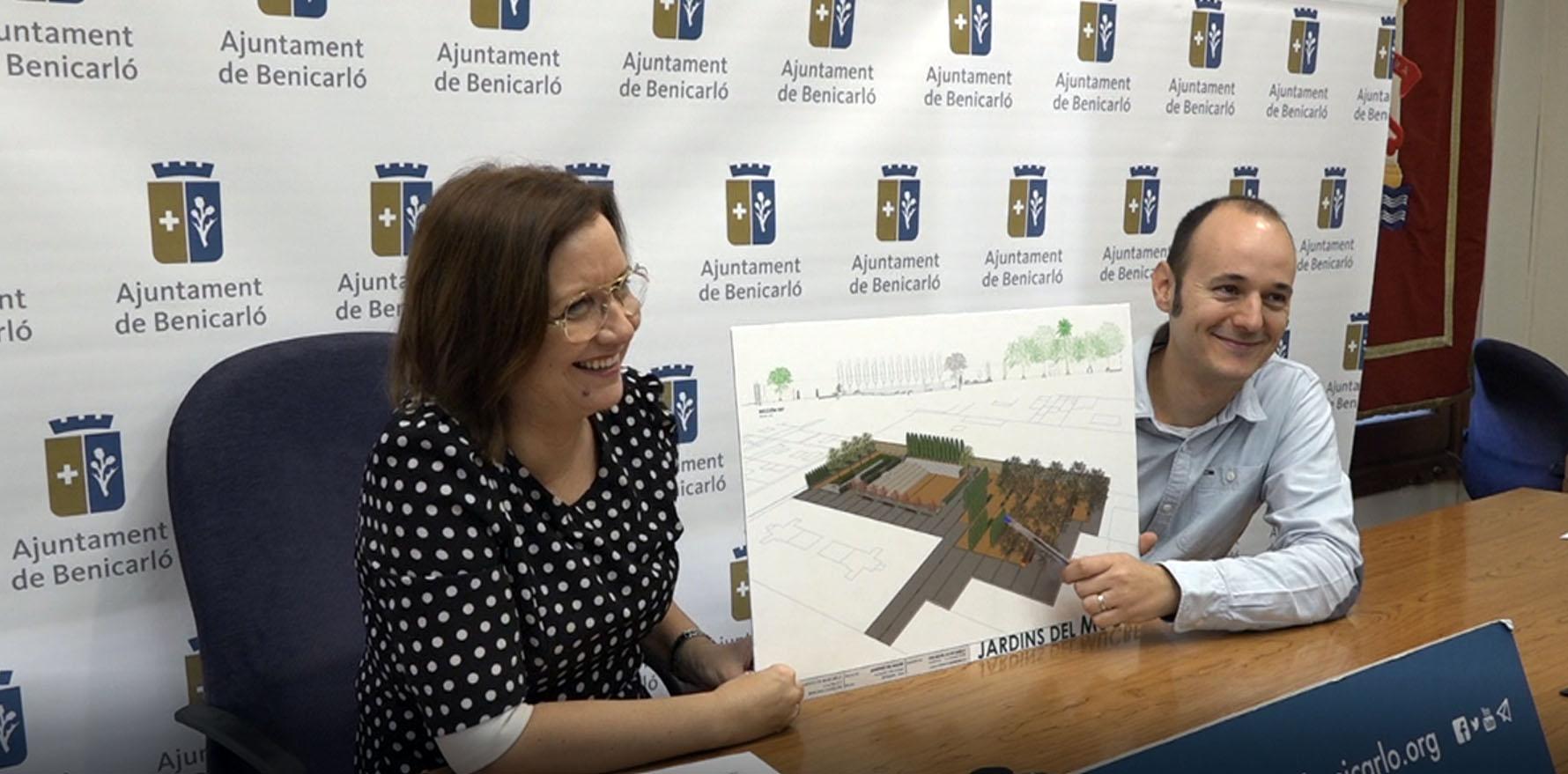 Benicarló reformarà els jardins del Mucbe per crear un nou espai cultural al municipi