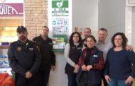 Vinaròs, el Mercat Municipal instal·la un desfibril·lador per poder atendre les emergències