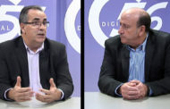 L'ENTREVISTA. Manuel Molinos, president, i Antonio Sebastià, director, de Caixa Vinaròs 14-01-2019