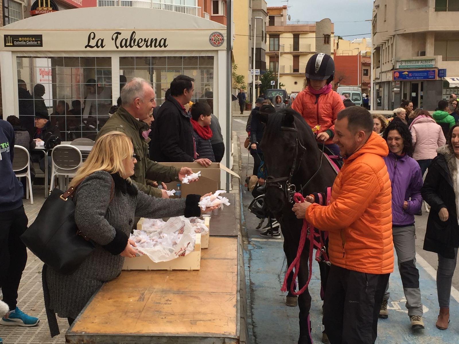 Alcalà es prepara per celebrar la festa de Sant Antoni als dos nuclis urbans