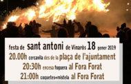 Vinaròs, els Dimonis es preparen per celebrar la festa de Sant Antoni el divendres 18 de gener