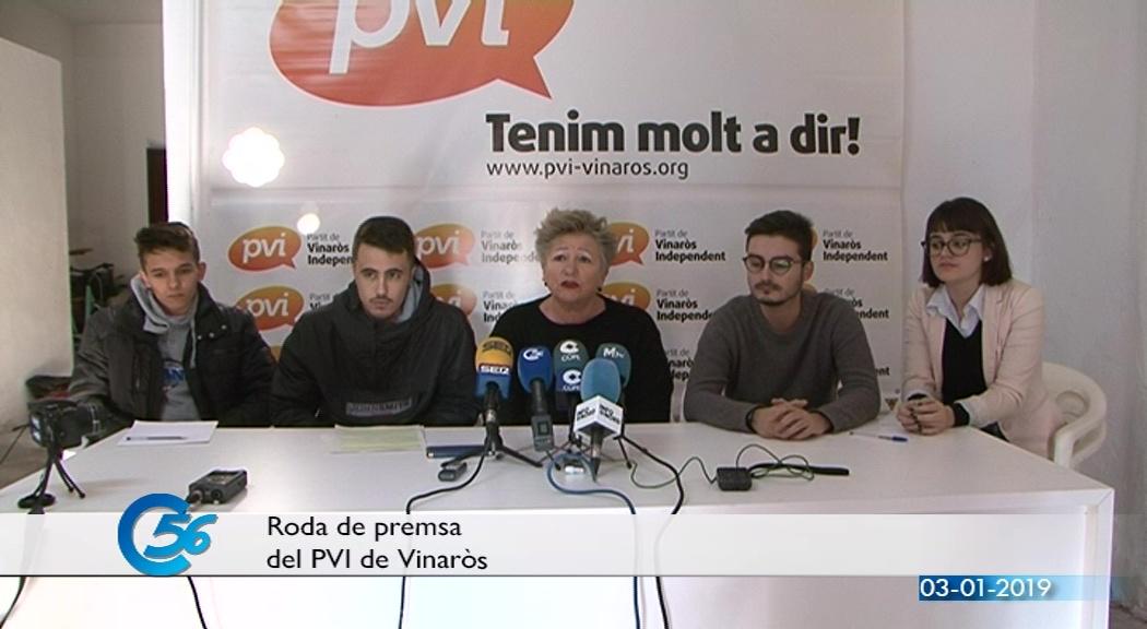 Vinaròs, el PVI presenta la nova secció jove per escoltar i atendre les demandes dels adolescents