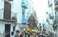 Peníscola celebra la tradicional missa de Sant Antoni