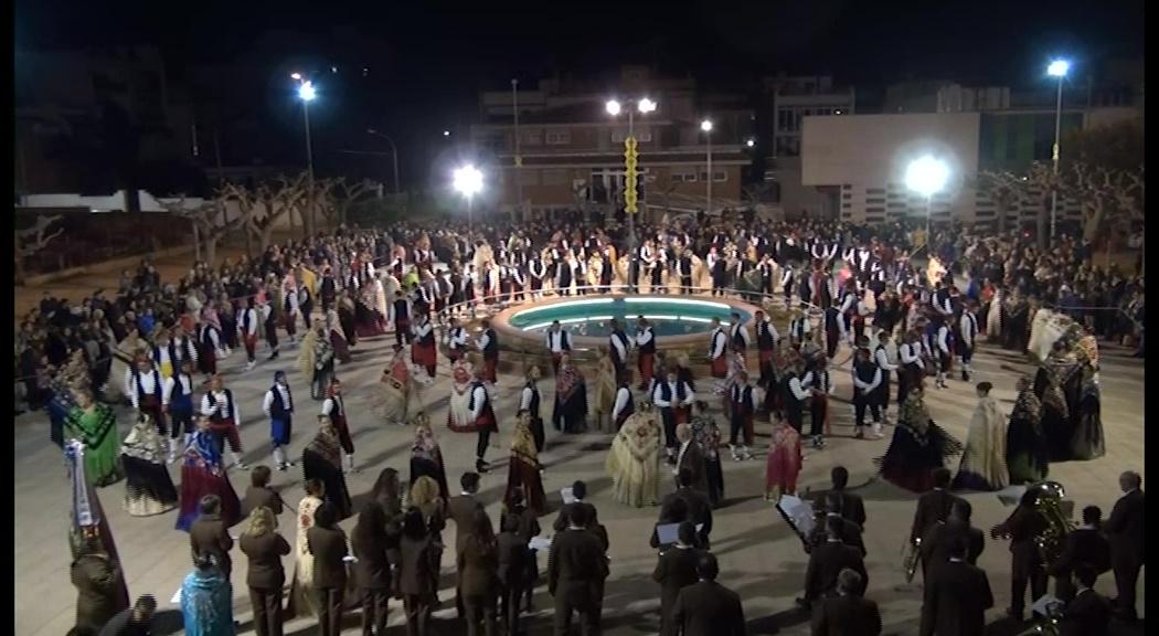 Alcanar celebra Sant Antoni amb l'estrena d'una nova jota al Ball Popular