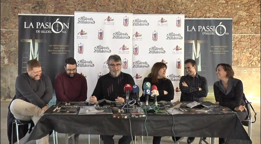 Ulldecona, La Passió presenta la nova temporada 2019