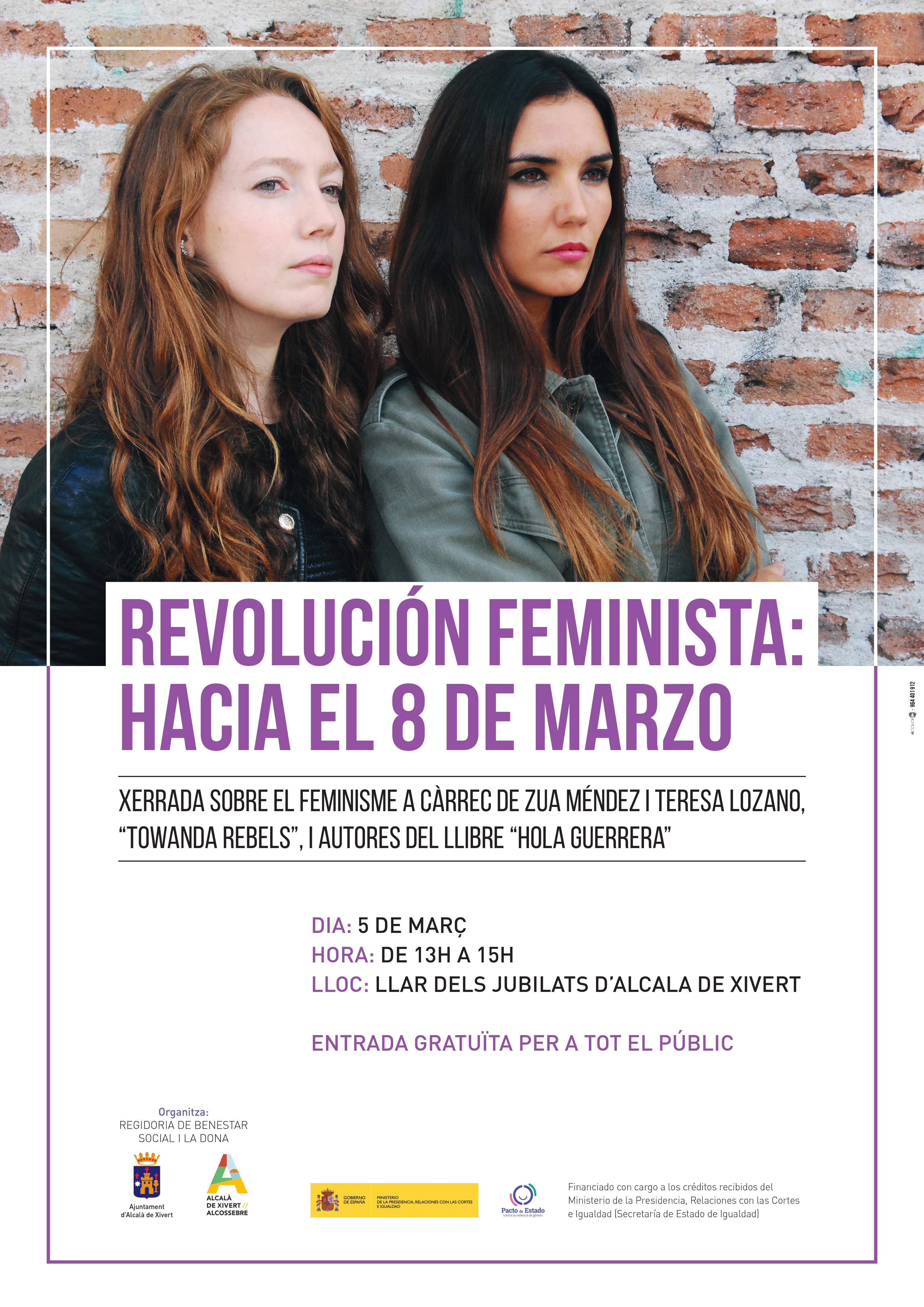 Alcalà commemorarà del Dia Internacional de la Dona amb una programació especial