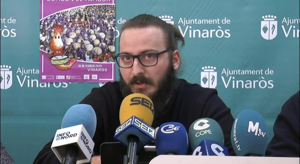 Vinaròs acollirà diumenge la 20a exaltació provincial del bombo i tambor