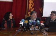 Vinaròs; roda de premsa de l'Ajuntament (presentació projecte residència pública) 14-02-2019