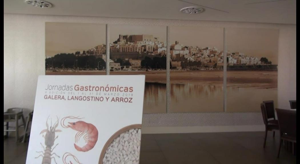 Peníscola, comencen les Jornades Gastronòmiques de la Galera, Llagostí i Arròs