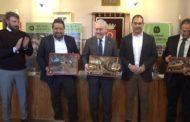 Traiguera, la Mancomunitat de la Taula del Sénia fa un reconeixement als presidents de la diputacions