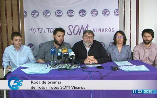 Vinaròs, TSV anuncia que farà primàries amb un procés de votació obert a tota la ciutadania