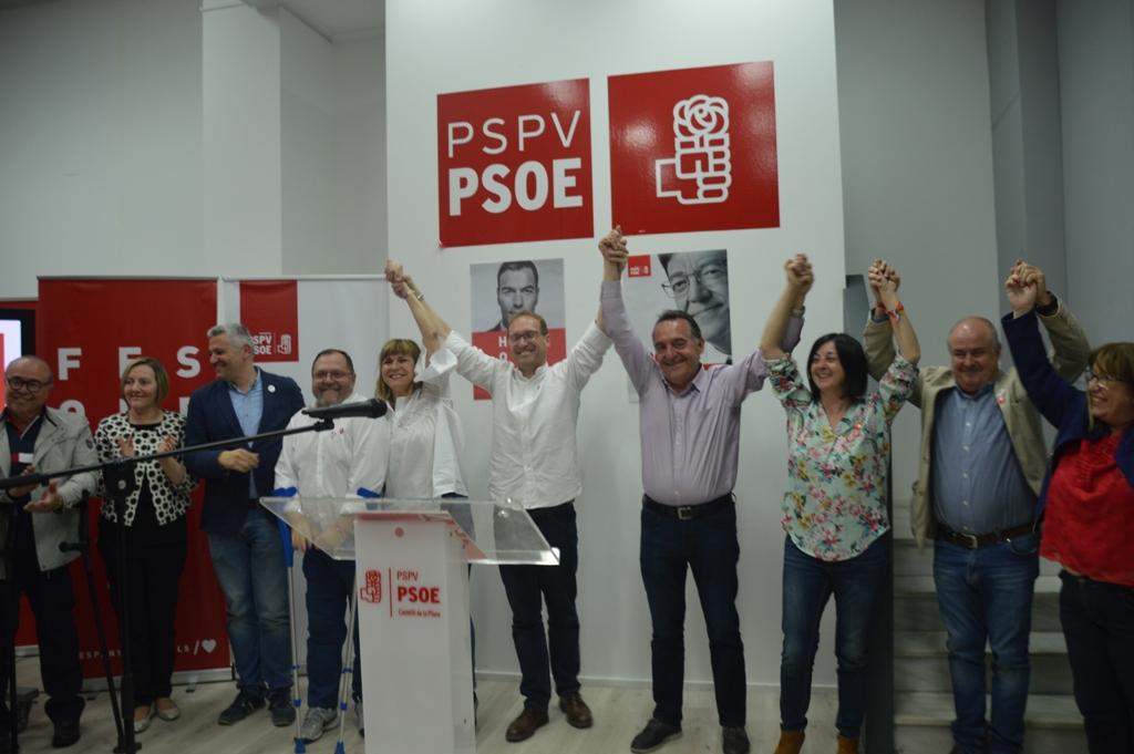 Província, el PSPV fa una valoració positiva dels resultats de les eleccions municipals