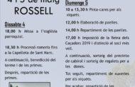 Rossell es prepara per celebrar la festa de Sant Marc