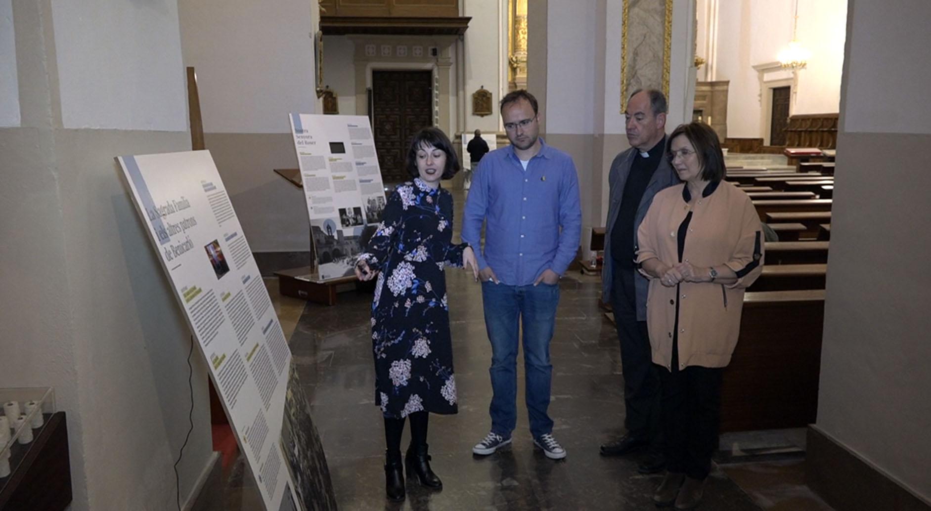 Benicarló celebra els 275 anys de l'església de Sant Bartomeu amb una exposició permanent
