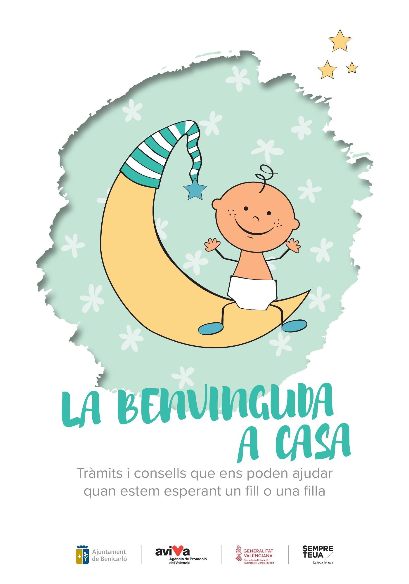 Benicarló, AVIVA edita una guia amb les tramitacions administratives que s'han realitzar amb el naixement d'un fill