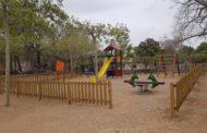 Càlig adequa el jardí de l'avinguda Constitució i al parc infantil del Paratge del Socors