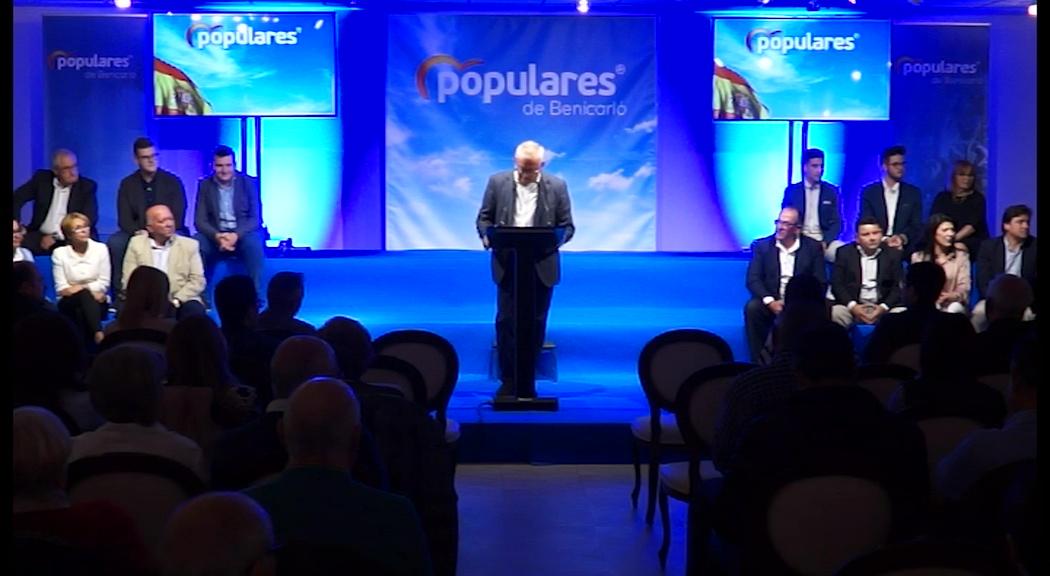 Benicarló, el PP presenta la candidatura per a les eleccions municipals amb Mañá al capdavant