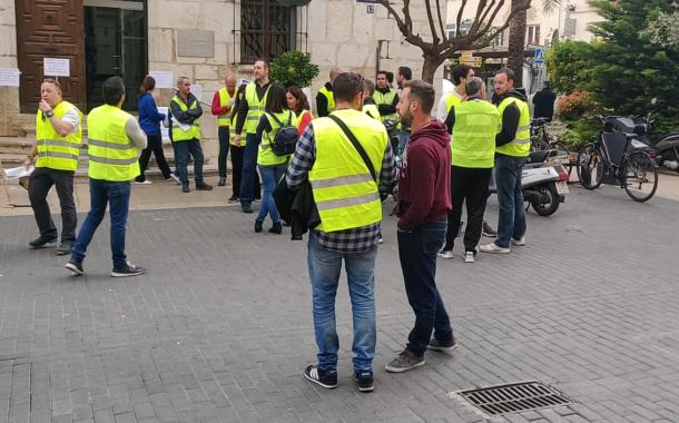 Vinaròs, la Policia Local reivindica millores laborals i salarials a l'Ajuntament
