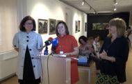 Benicarló; Inauguració de l'exposició «Matèria, cos i Art Brut en l'obra de Peiró Coronado 1950-1980» al Museu de la Ciutat de Benicarló 29-05-2019