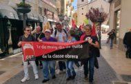 Vinaròs, varis centenars de persones surten al carrer per reivindicar pensions dignes i millors condicions laborals
