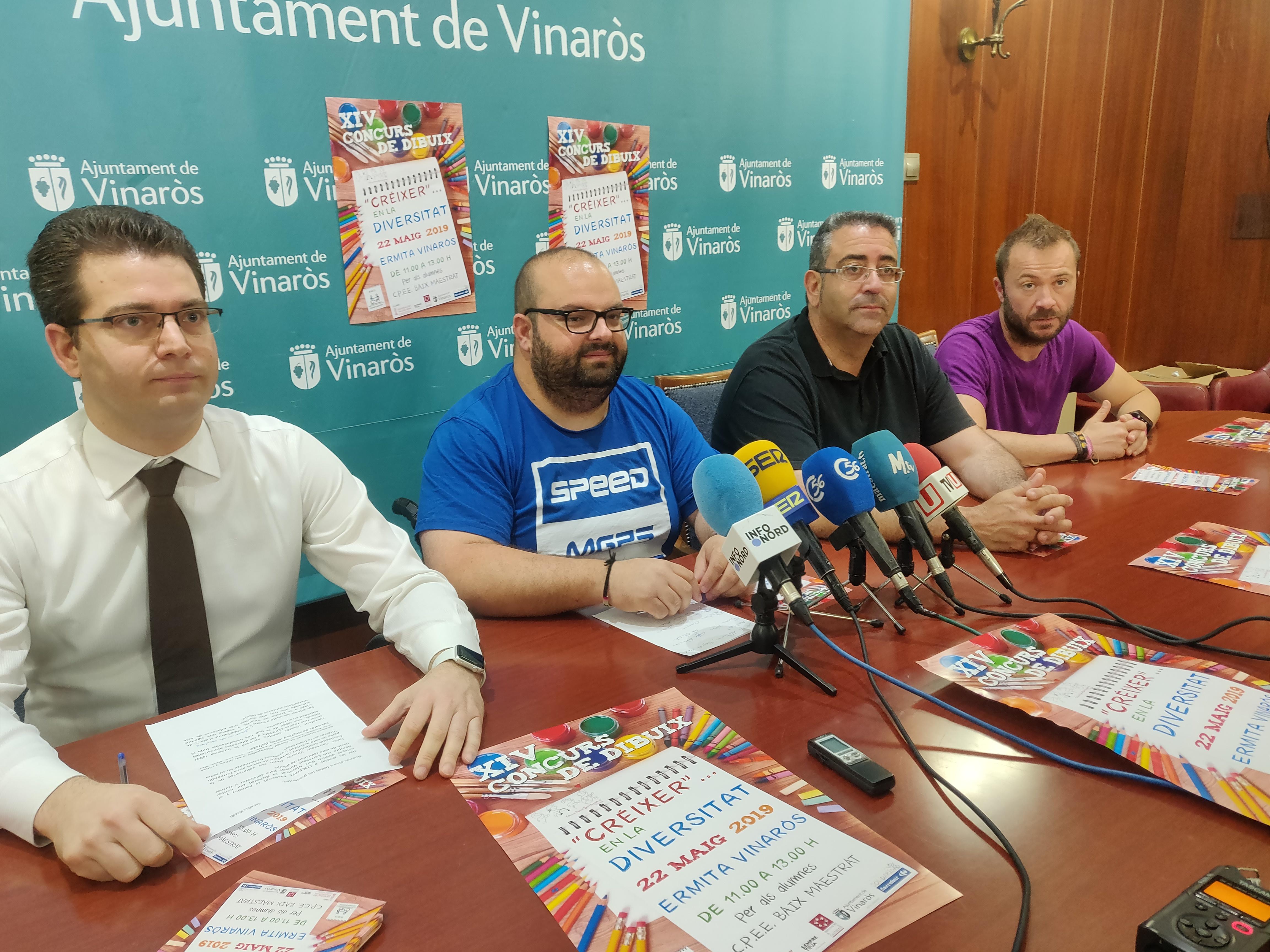 VInaròs acollirà el 22 de maig el 14è Concurs de Dibuix Créixer en la Diversitat