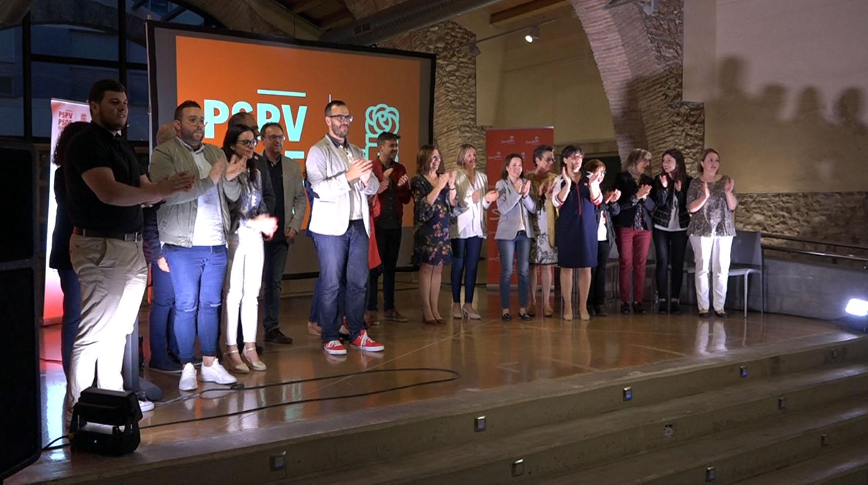 Benicarló, el PSPV presenta les principals propostes del programa electoral amb el desenvolupament urbà com a principal eix