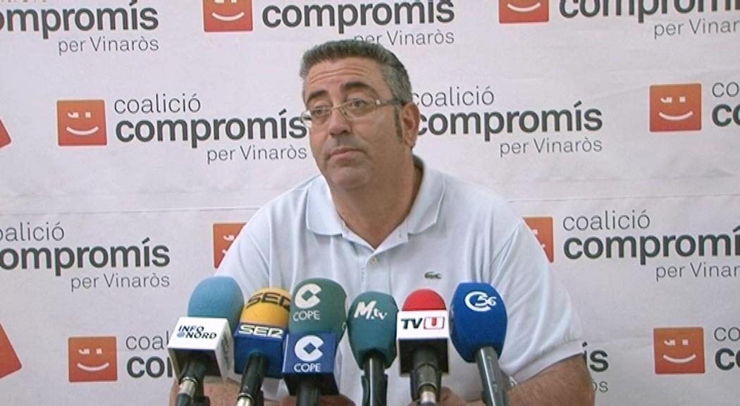Vinaròs, Jordi Moliner presenta la seva dimissió per motius personals
