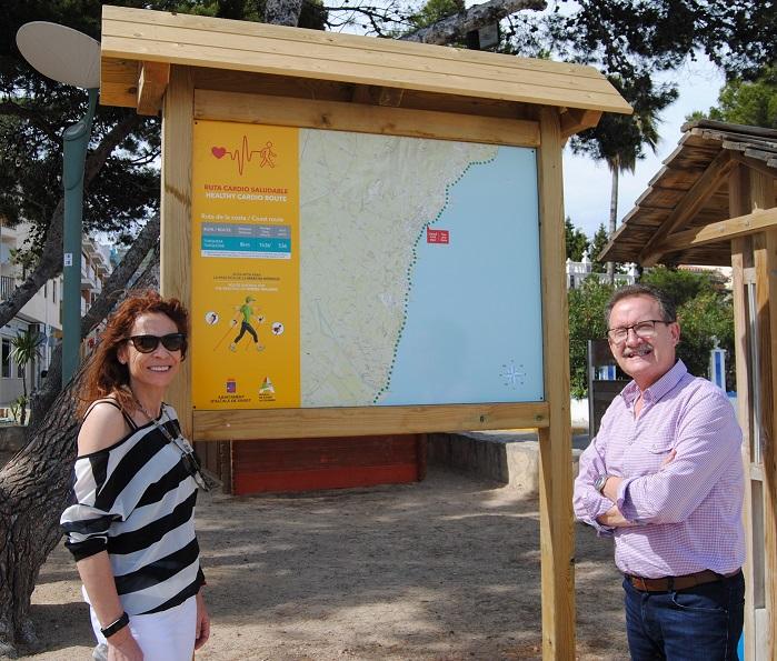 Alcalà, se senyalitzen quatre noves rutes cardiosaludables a Alcossebre