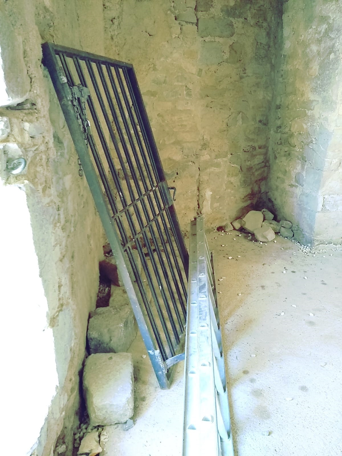 Alcalà, l'Ajuntament denuncia actes vandàlics al castell de Xivert