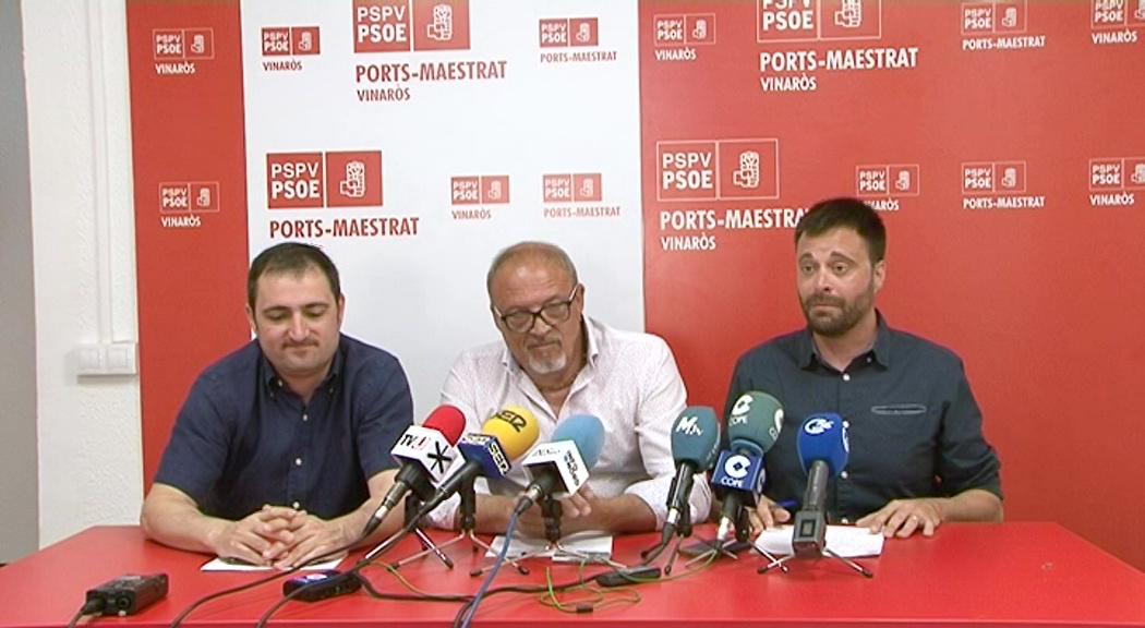 Vinaròs, el PSPV demana la dimissió del popular Juan Amat per les seves acusacions de corrupció