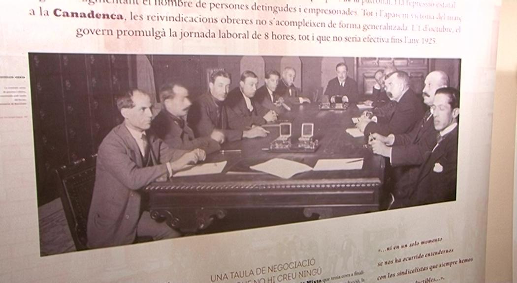 Vinaròs, la Biblioteca acull una exposició dedicada a la vaga de La Cadanenca en motiu del seu centenari
