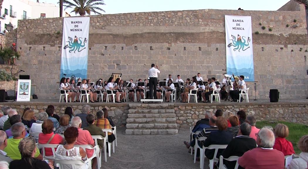 Peníscola, L'Associació Musical Verge de l'Ermitana va oferir dissabte el 27è Festival de Bandes de Música