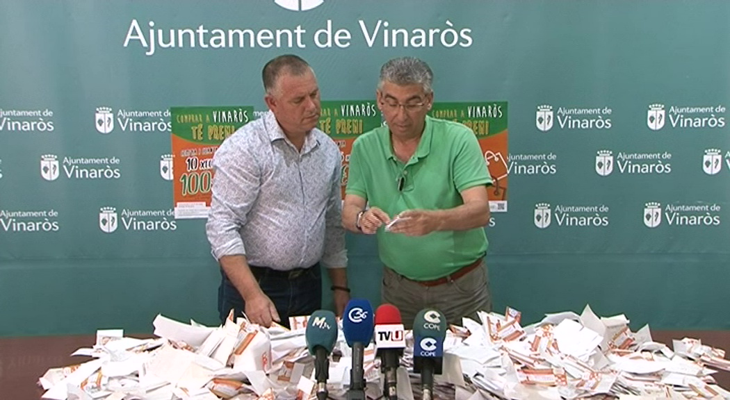 Vinaròs reparteix 1.000€ en premis a través de la campanya