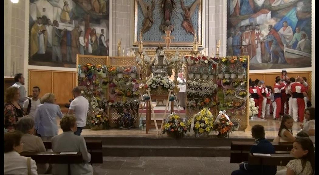 Vinaròs celebra el Dia de la Misericòrdia, patrona de la ciutat