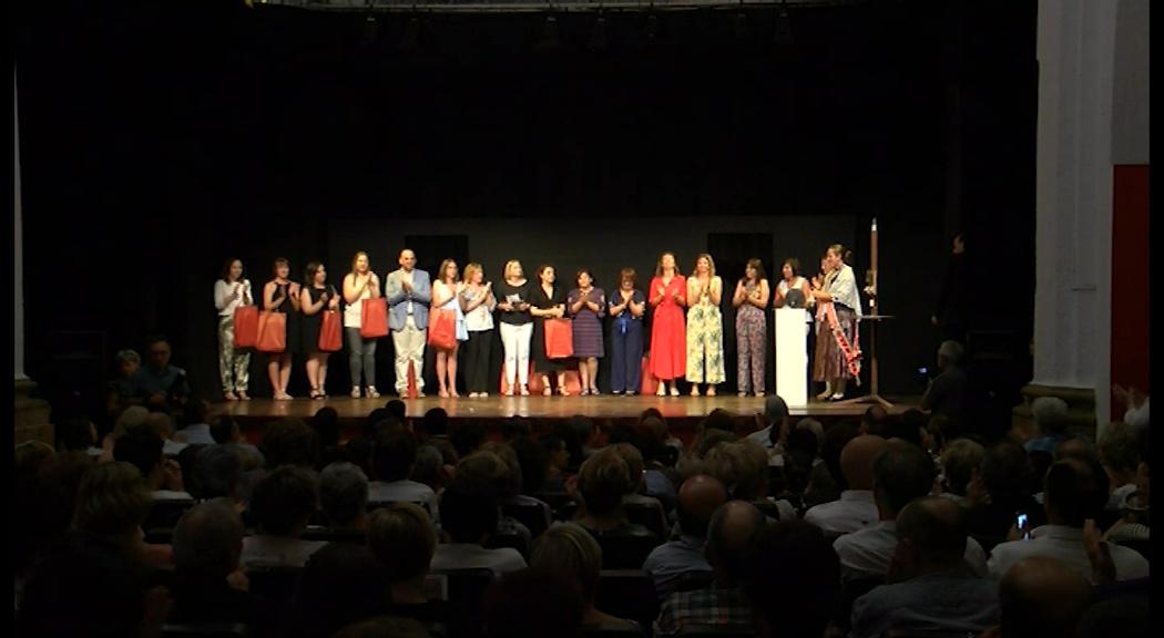 La Fundació Caixa Vinaròs entrega l'Alè Vinarossenc a la Unitat Hospitalària a Domicili