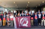 Província, Alcalà, Peníscola i Vinaròs aconsegueixen les banderes Qualitur