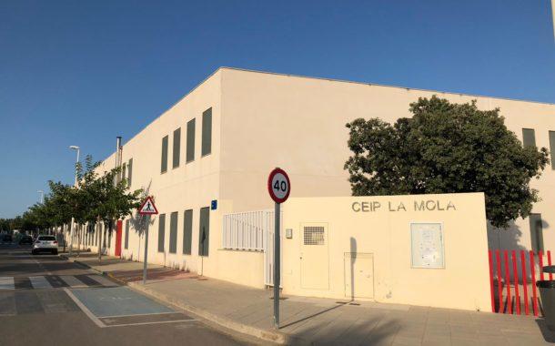 Alcalà reivindica a la Generalitat la insonorització del menjador del col·legi la Mola